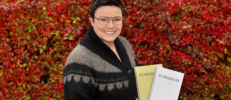 Anna Ólöf gefur út 6 vikna ódagsetta dagbók með áherslu á bættar lífsvenjur.