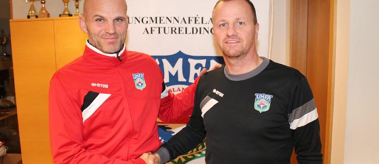 Arnar Hallsson og Ásbjörn Jónsson.