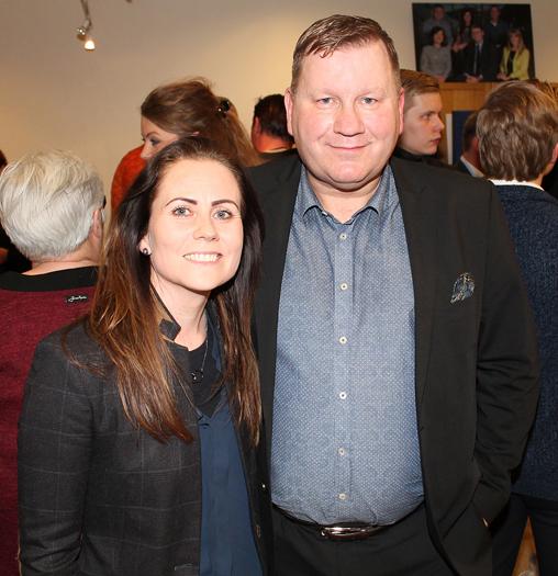 Arna Hagalíns og Ásgeir Sveinsson.