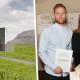 Ari Þorleifsson og Anna Björg Sigurðardóttir eru höfundar vinningstillögunnar um nýtt aðkomutákn við þrjár aðkomuleiðir í Mosfellsbæ.