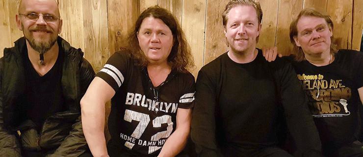Ingimundur, Birgir Haralds, Birgir Nielsen og Sigurgeir.