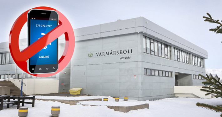 Nýjar skólareglur  tóku gildi í eldri deild Varmárskóla um áramótin.