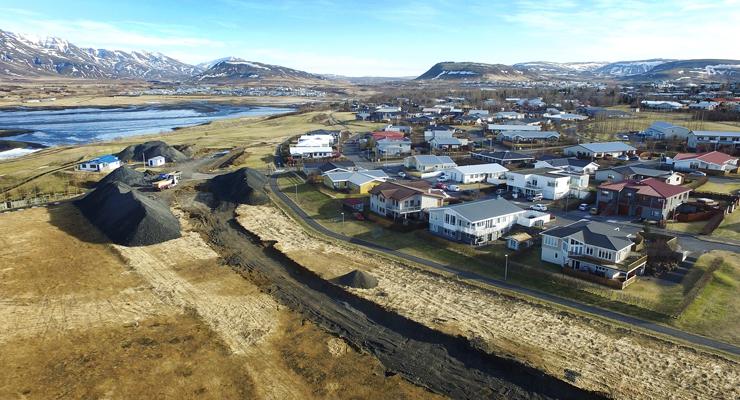 Á næstunni munu 19 ný  hús bætast við Súluhöfða.