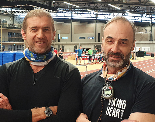 Paul Cota og Hlynur Chadwick Guðmundsson